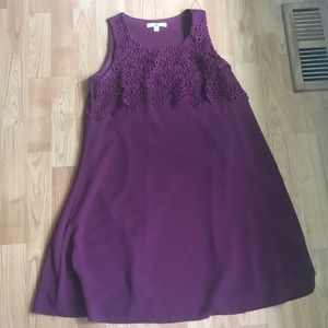 ModCloth maroon sleeveless dress